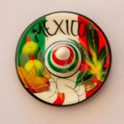 Magnet sombrero, mexicain et cactus