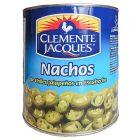 Chiles jalapeños para nachos