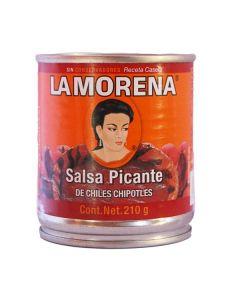 Sauce au piment chipotle- Salsa picante de chiles chipotles
