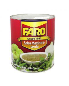 Salsa verde mexicana 2.8Kg