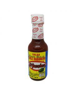 Yucateco sauce habanero rouge