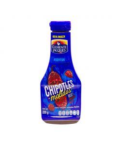 Sauce piment chipotle - Salsa chile chipotle molidos