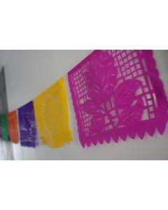 Guirlandes décorative - Papel picado