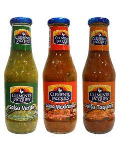 Pack de 3 sauces